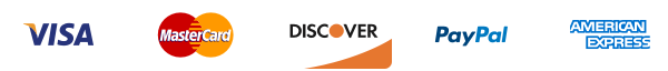 Visa mastercard discover paypel amex